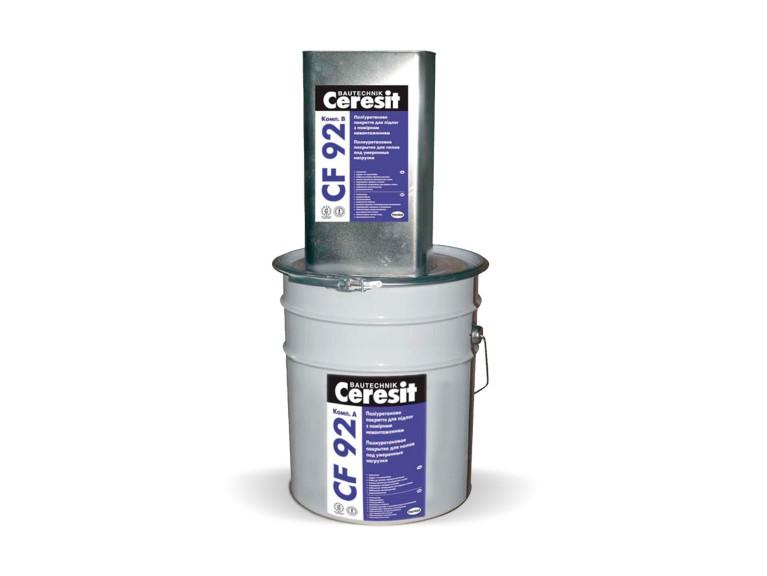 Ceresit CF 92 Двукомпонентно ПУ саморазливно подово покритие