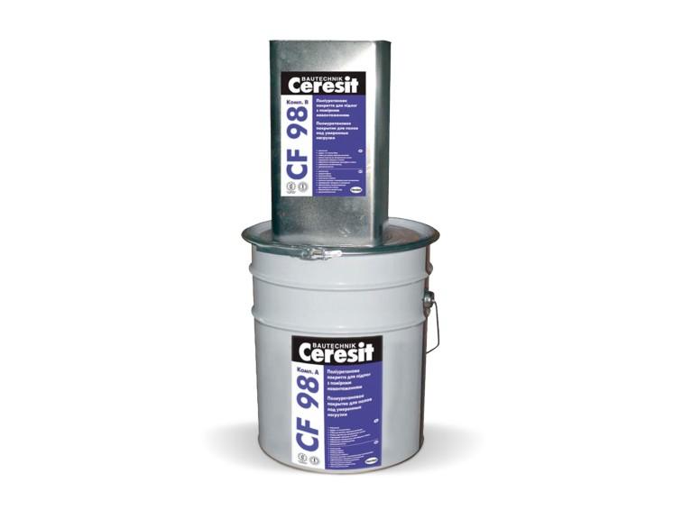 Ceresit CF 98 Двукомпонентно епоксидно саморазливно подово покритие