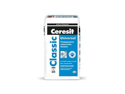 Ceresit Classic<br> Универсално циментово лепило