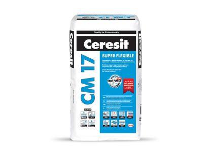 Ceresit CM 17 SUPER FLEXIBLE<br> Супер гъвкаво лепило за критични основи
