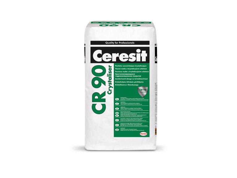 Ceresit CR 90 Кристализиращ хидроизолационен шлам за изолиране на сгради и строителни елементи