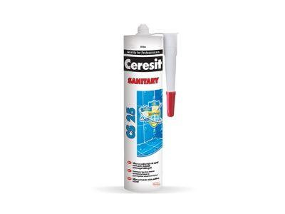 Ceresit CS 25 Санитарен силиконов уплътнител