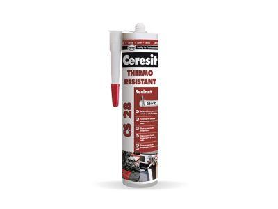 Ceresit CS 28 Heat Resistant Термоустойчив силиконов уплътнител