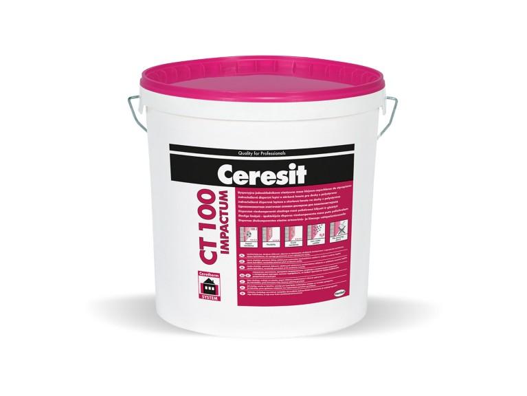 Ceresit CT 100 Impactum Готова за употреба, еластична шпакловка