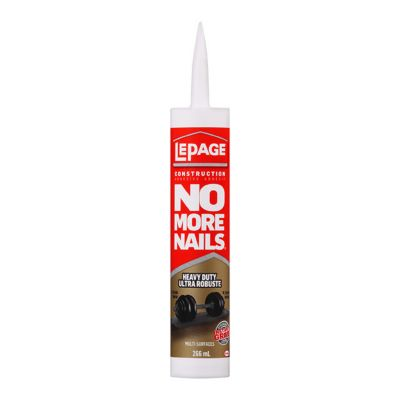 No More Nails® Heavy Duty Construction Adhesive