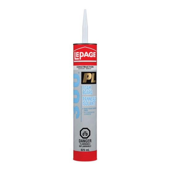 PL® 300 Foam Board Adhesive