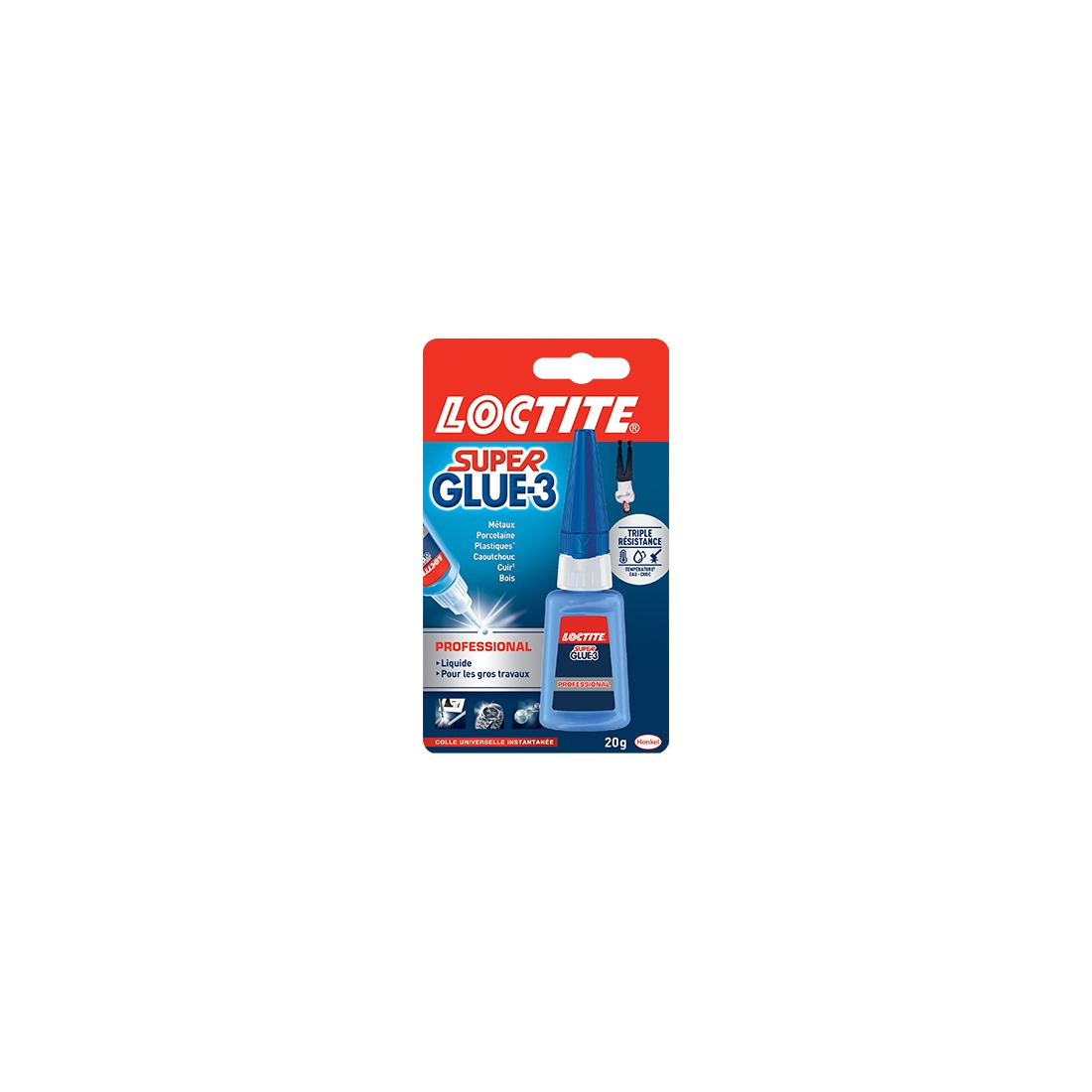 Colle Liquide Super Glue-3 Professionnel