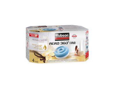 Aero 360° - Lot de 4 recharges Aroma Comfort Vanille