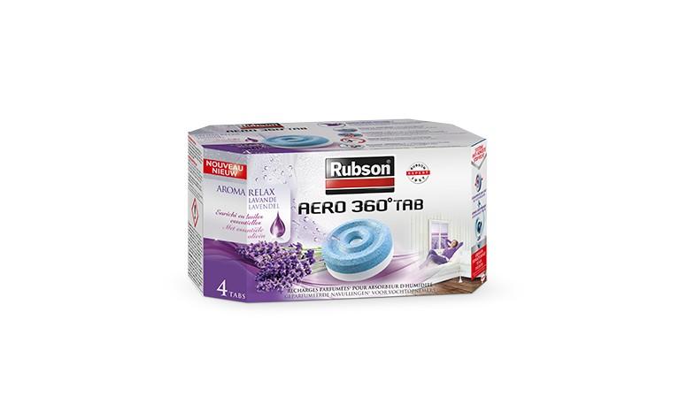 Aero 360° - Lot de 4 recharges Aroma Relax Lavande