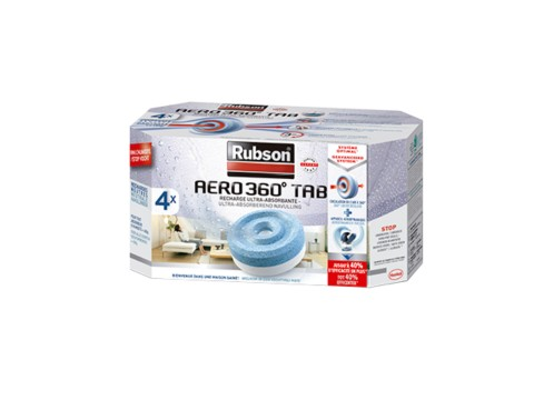 Aero 360° - Lot de 4 recharges Neutres