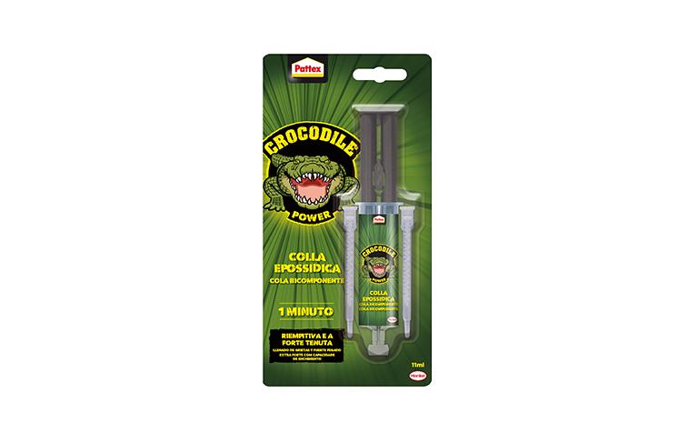 Pattex Crocodile Power 1 Min Colla Epossidica