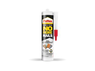 No More Nails All Materials Crystal Clear