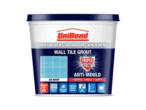 Wall tile grout ready mixed: Triple Protection Anti-Mould
