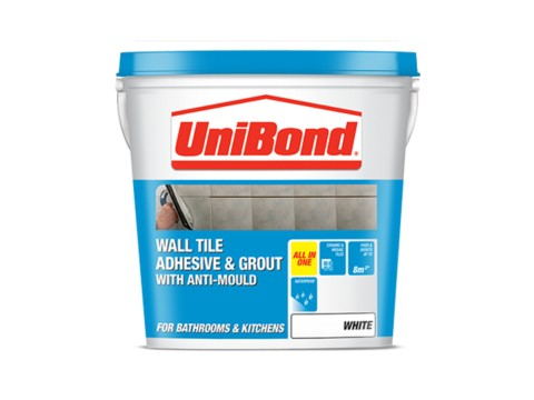 Wall tile adhesive & grout: Anti-Mould