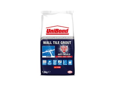 Wall tile grout powder: Triple Protection Anti-Mould