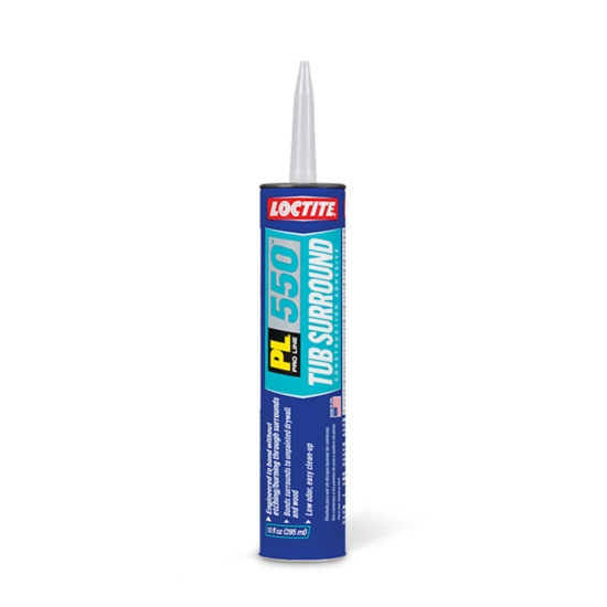 Loctite® PL® 550 Tub Surround Adhesive