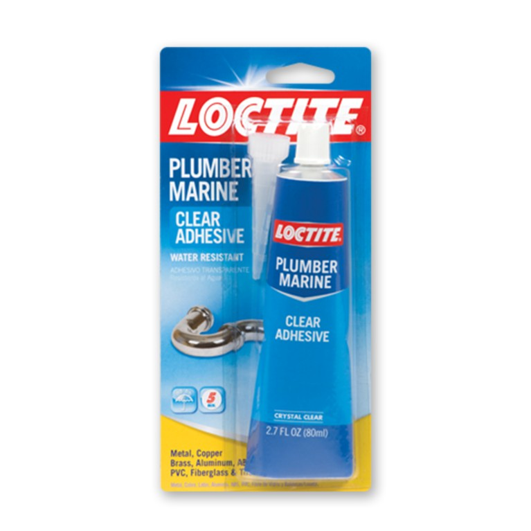 Loctite Plumber and Marine Clear Adhesive