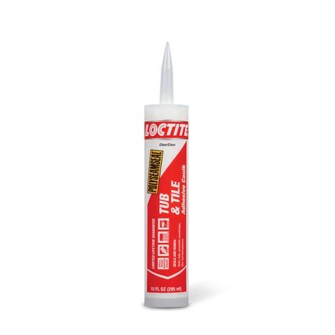 Loctite® Polyseamseal® Tub & Tile Adhesive Caulk