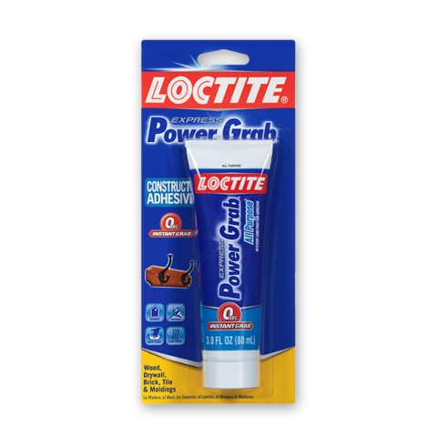 Loctite® Power Grab® Express Construction Adhesive 3 oz Squeeze Tube