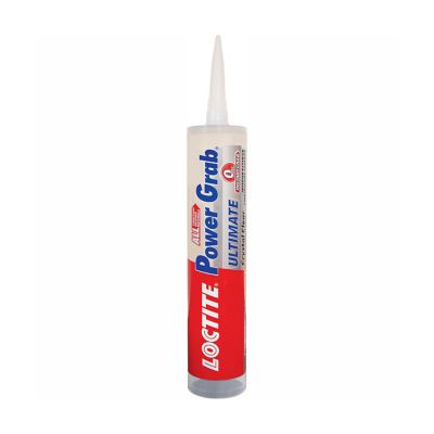 Loctite® Power Grab® Ultimate Crystal Clear Construction Adhesive