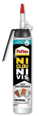Pattex Ni Clou Ni Vis Tous Matériaux Crystal