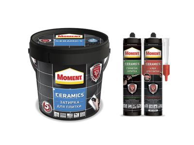 Система продуктов для плиткиМомент Керамикс