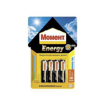 Алкалиновые батарейки «Момент Energy» ААА