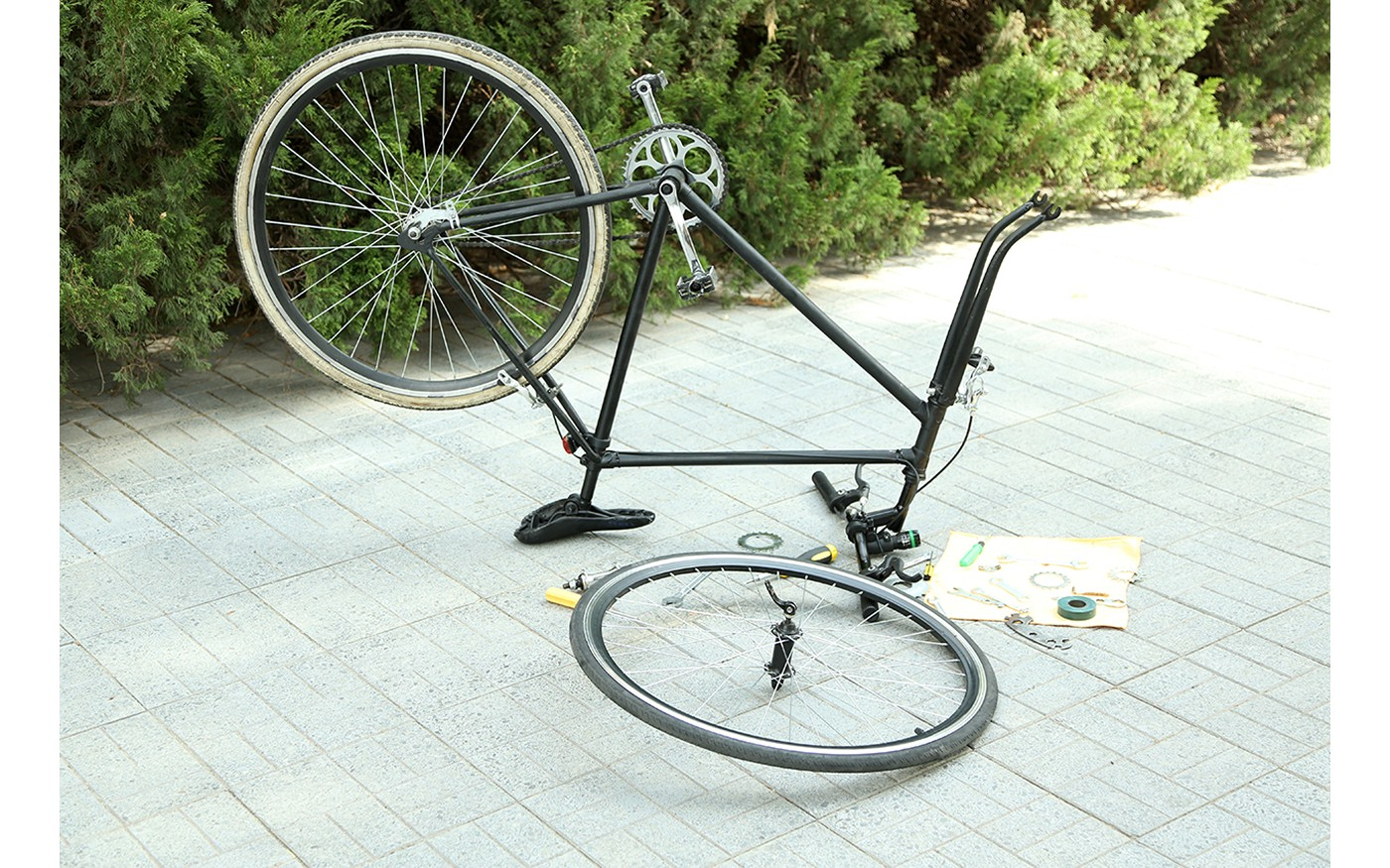 Kaputtes Fahrrad