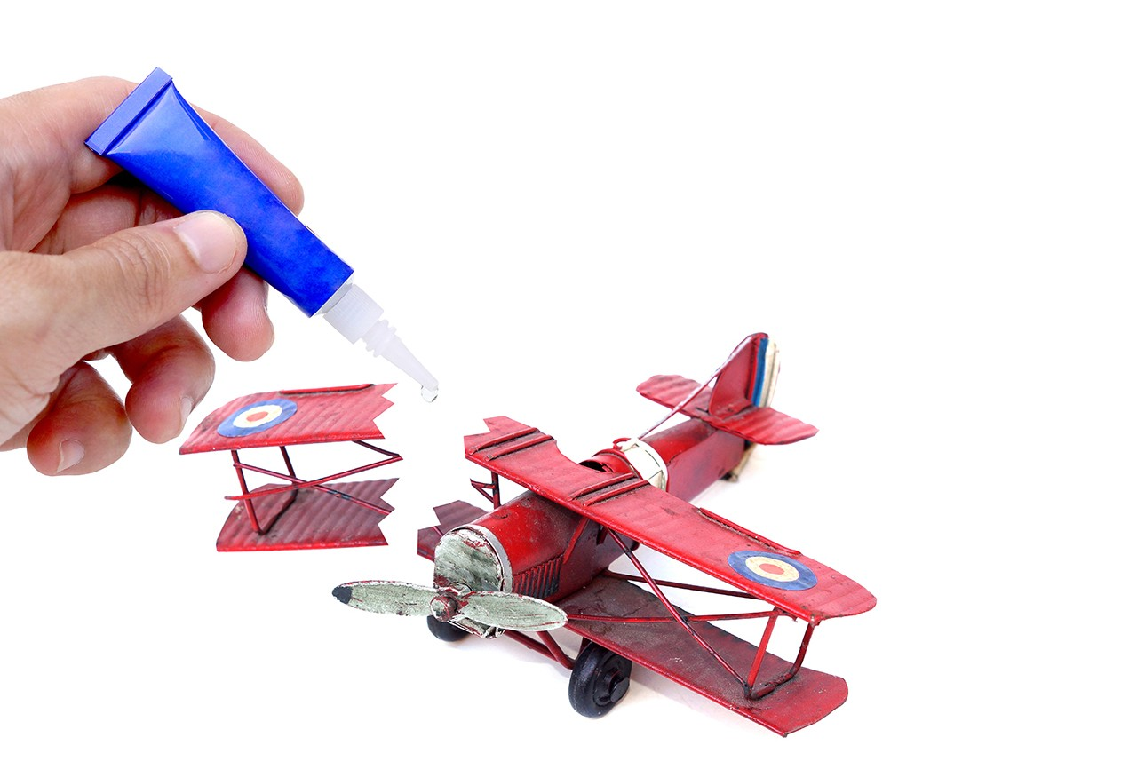 Kaputtes Plastikspielzeug