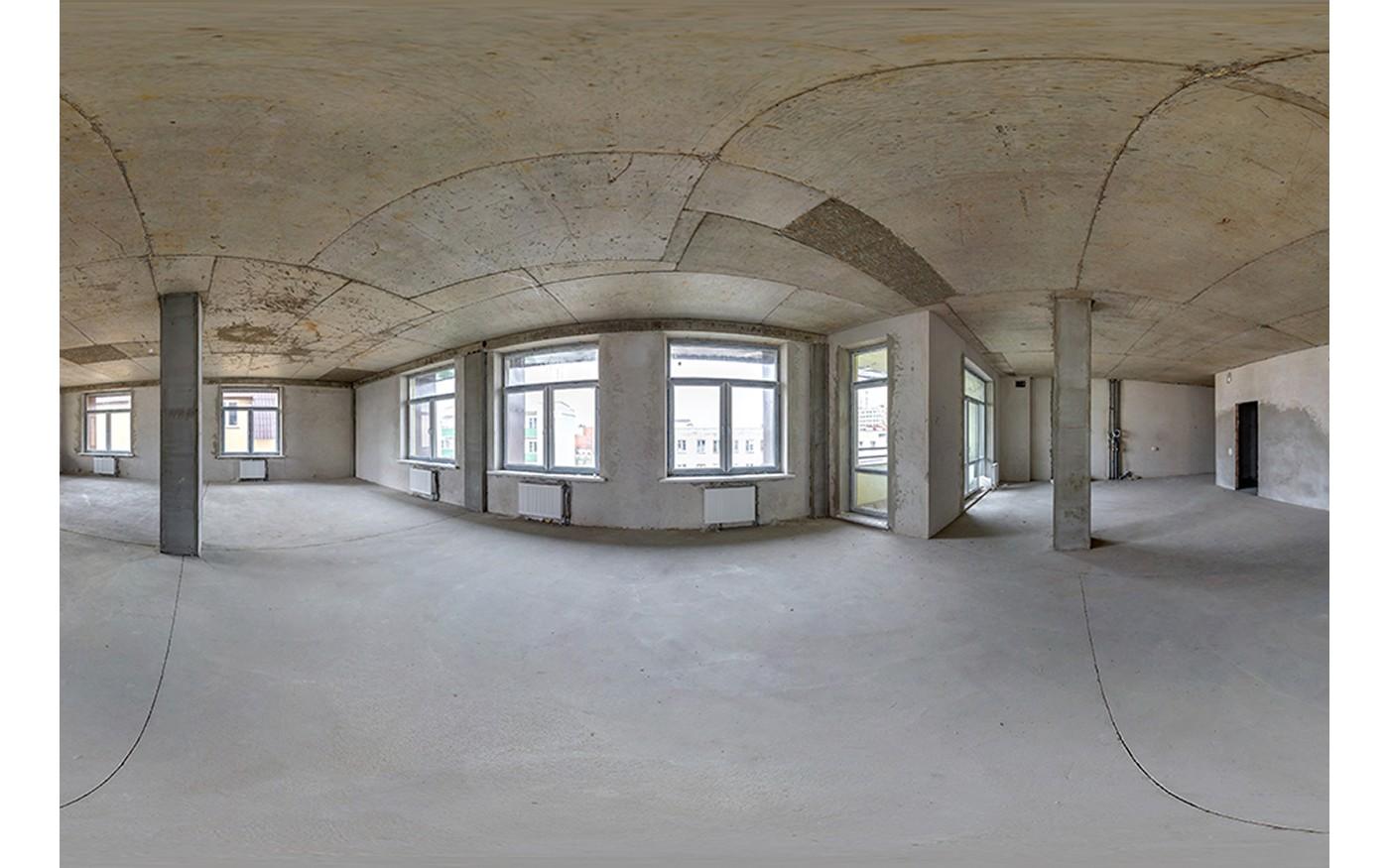 Fußboden aus Beton