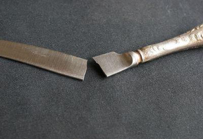 Kaputte Metallteile