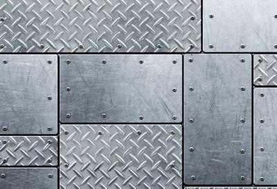 Plaque de métal