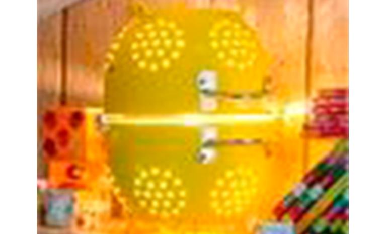 Crea una lampada con 100% colla