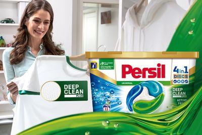 Novinka: Persil Deep Clean Plus