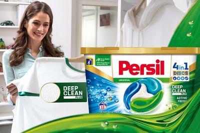 Fedezze fel innovációnkat: Persil Deep Clean Plus a mélyreható tisztaságért.
