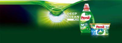 A Persil Deep Clean Plus Technológiája garantálja a hatékony tisztítási teljesítményt, mélyen behatol a szálak közé a tökéletes folteltávolítás érdekében, miközben az Active Fresh megőrzi fehér ruháinak frissen mosott érzését.