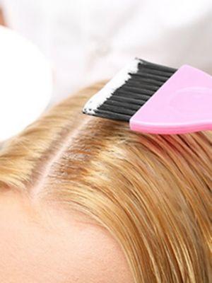 Obrázek barvení vlasů