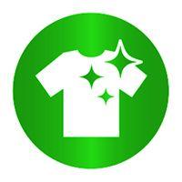 element verde tricou curat