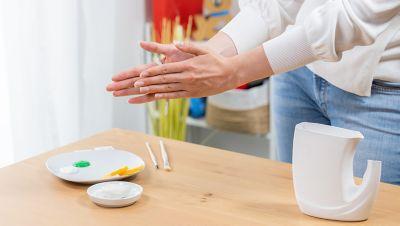 Modelliermasse formen