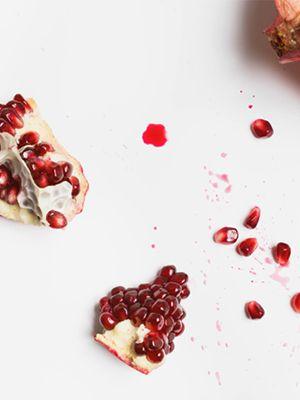 Obrázek s granátovým jablkem