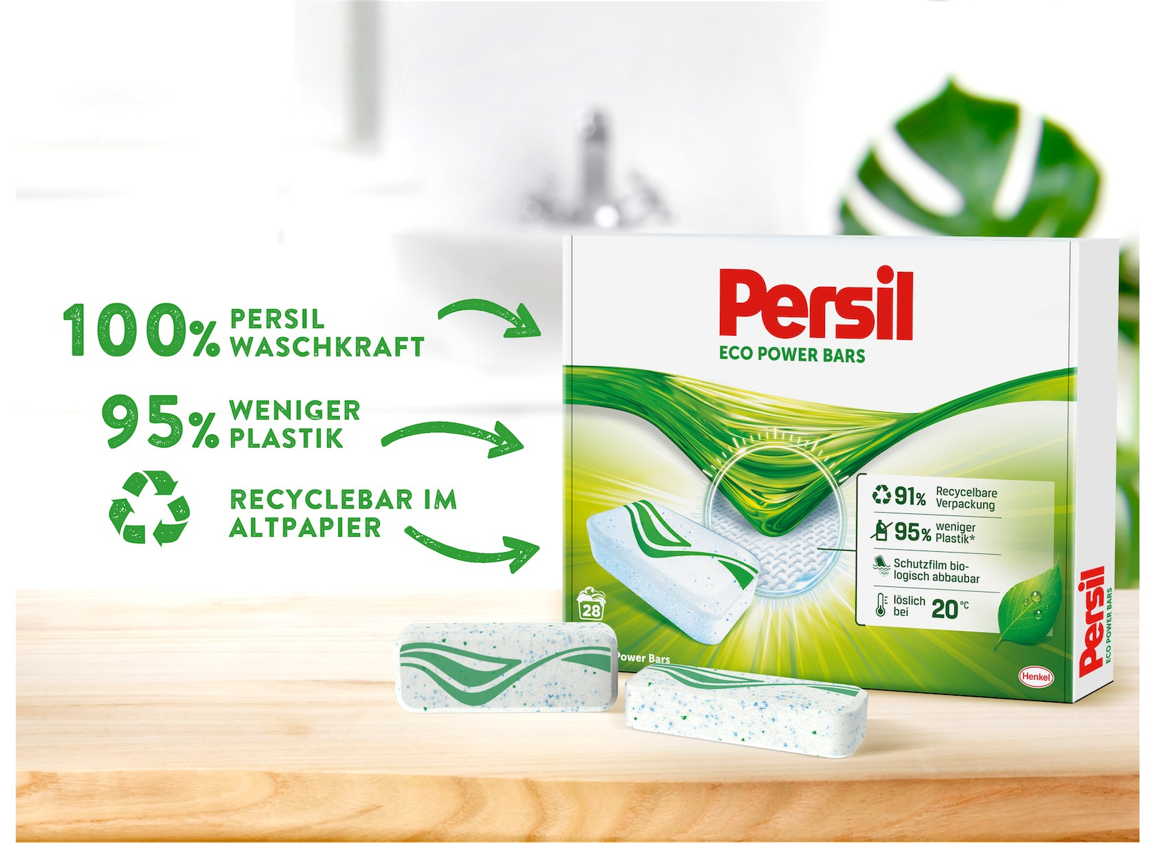 Persil Eco Power Bars