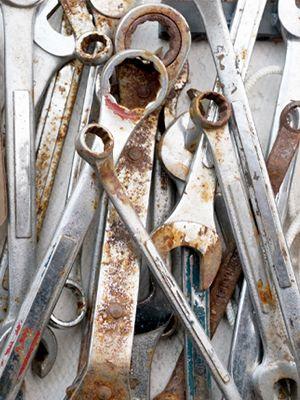 Rostiges Werkzeug