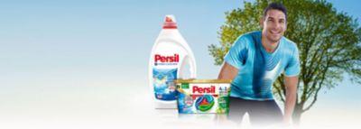 Persil gel i Persil Discs protiv neugodnih mirisa pored aktivnog sportaša i