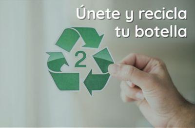 ¿Únete y recicla tu botella?