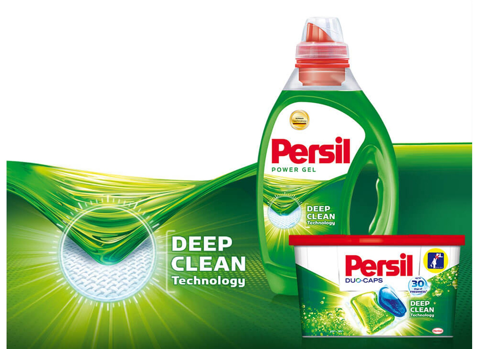 Persil Deep Clean Home Slider Mobile