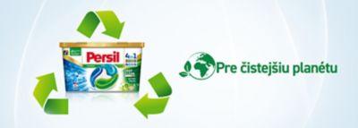 Pre čistejšiu planétu aj bielizeň. •   50% recyklovaný box  •   biologicky odbúrateľná fólia