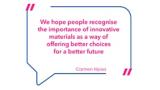 Carmen Hijosa über die Bedeutung innovativer nachhaltiger Stoffe