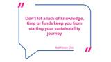 Kathleen Elie bietet wertvolle Tipps, wie jeder einzelne von uns einen Beitrag zu nachhaltiger Mode leisten kann