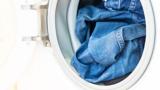Eine überladene Waschmaschine