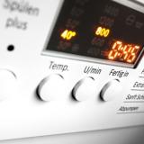 Display einer Waschmaschine